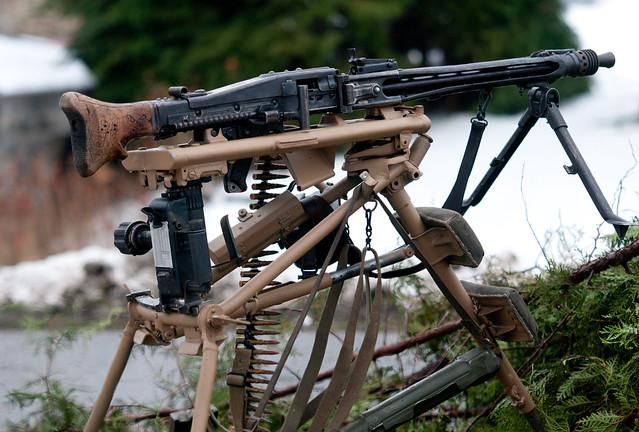 Maschinegewehr 42 Wallpaper: Bastogne Historic Walk 2010: Cobru