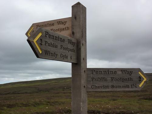 Three Way Pennine Way