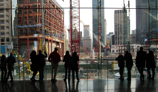 Looking at the World Trade Center site