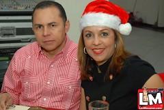 Ayuntamiento moca realiza cena navideña a comunicadores y colegas de la prensa mocana.