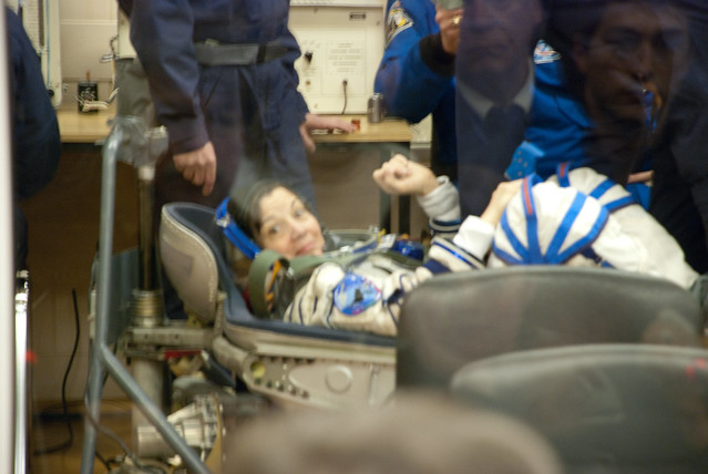 Female Space Suit Pressurized - Pics about space