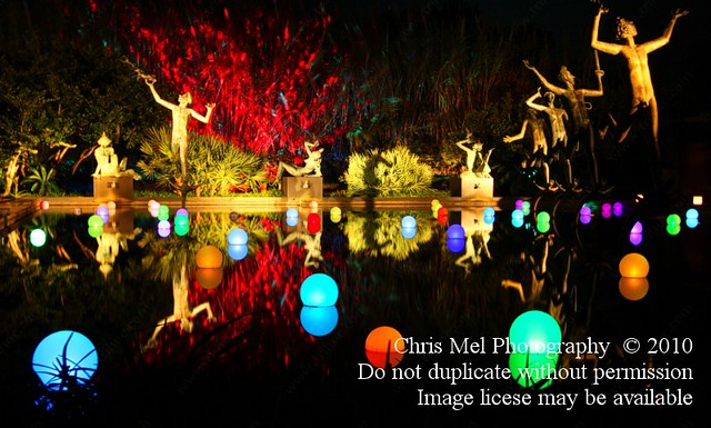 Brookgreen Gardens Night Of Thousand Candles Muses Pool Flickr Photo Sharing