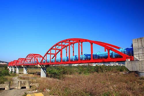 GB96板新水廠-三鶯水管橋
