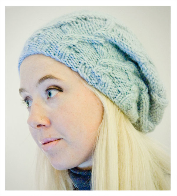BERET HAT KNITTING PATTERNS   Free Patterns