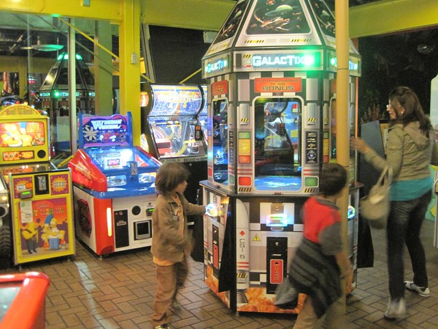 video arcade inside world's largest mcdonalds in orlando florida