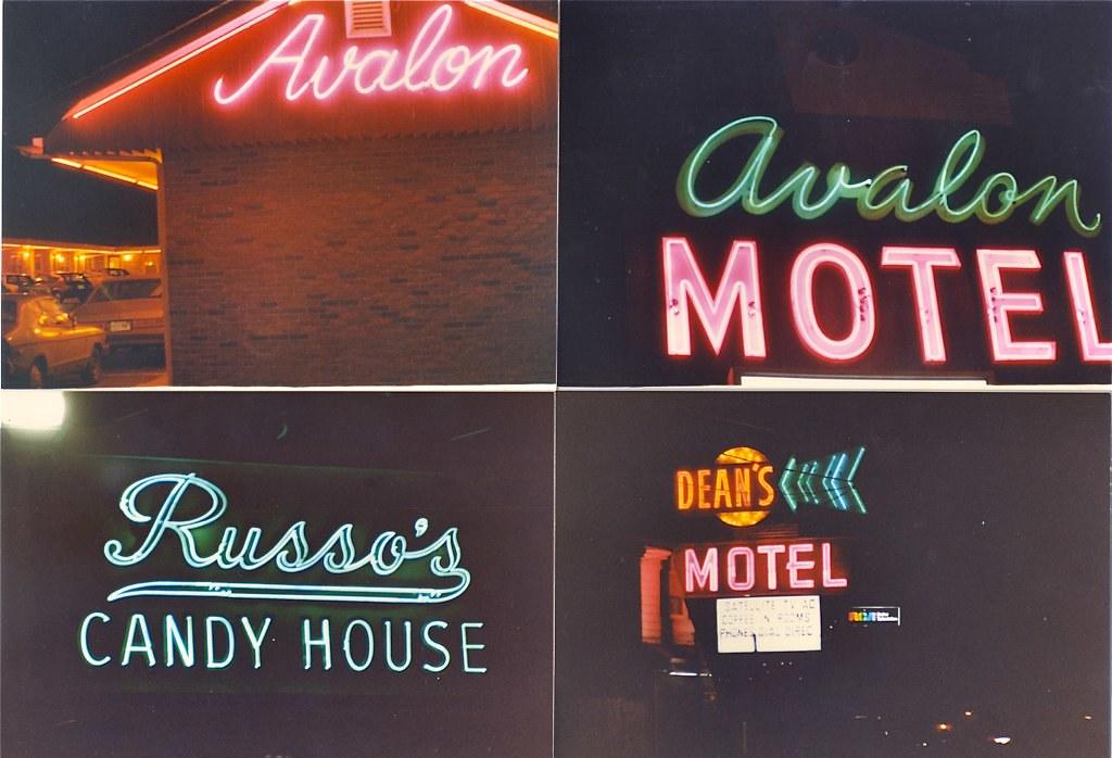 Route 1 Saugus MA Neon circa 1986 1