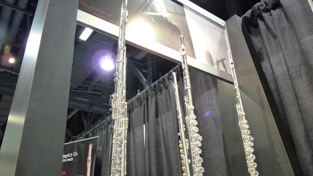 Haynes Flutes - NAMM 2011