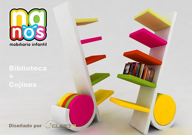 Librero Para Ninos