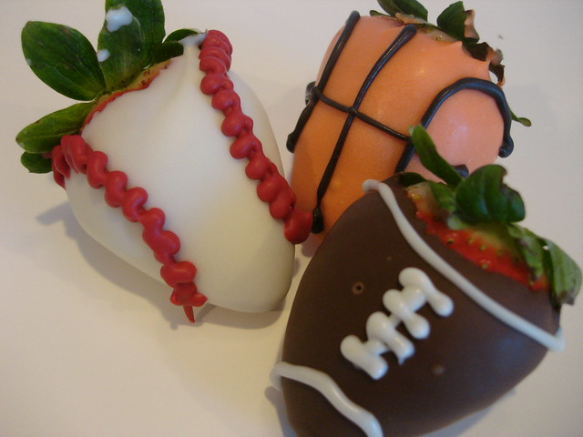 Sports Chocolate Covered Strawberries | Flickr - Photo Sharing!