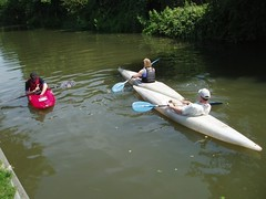 Relaxed on the River Stort Image