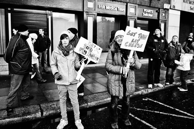 Dublin Protest March 27/11/10