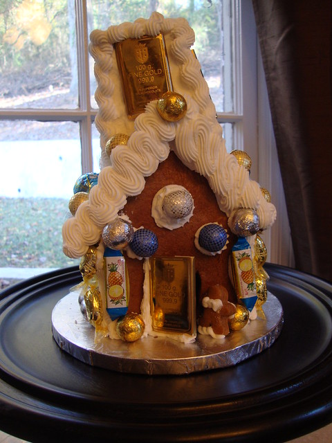 Chanukah Gingerbread House