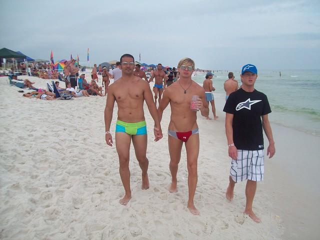 pensacola beach Nude fl gay