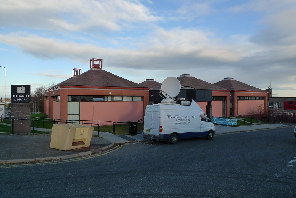 Oxgangs Library hosts BBC Radio Scotland