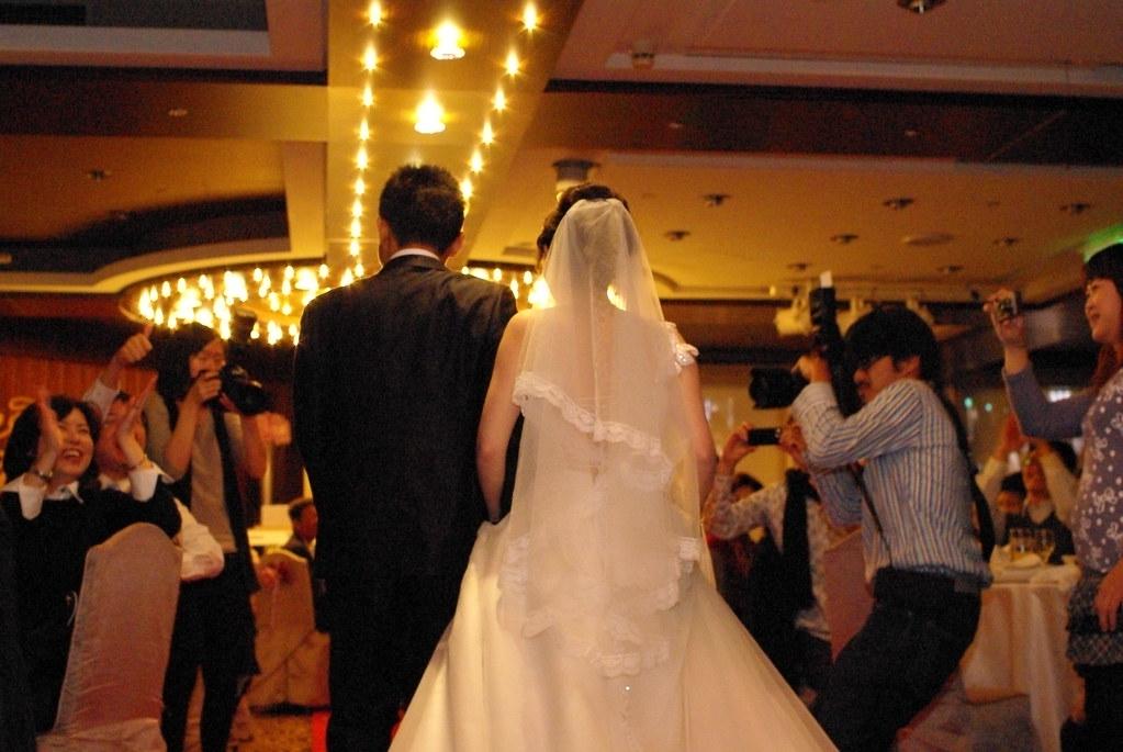 大學時代最要好的學伴結婚了