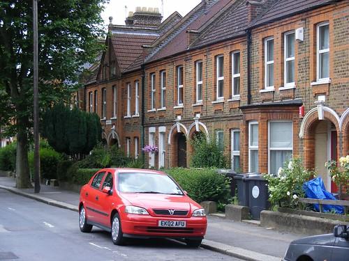 The Warner Estate in Lloyd Road, E17