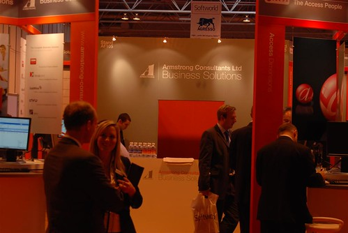 The Armstrong Consultants stand at Softworld 2007
