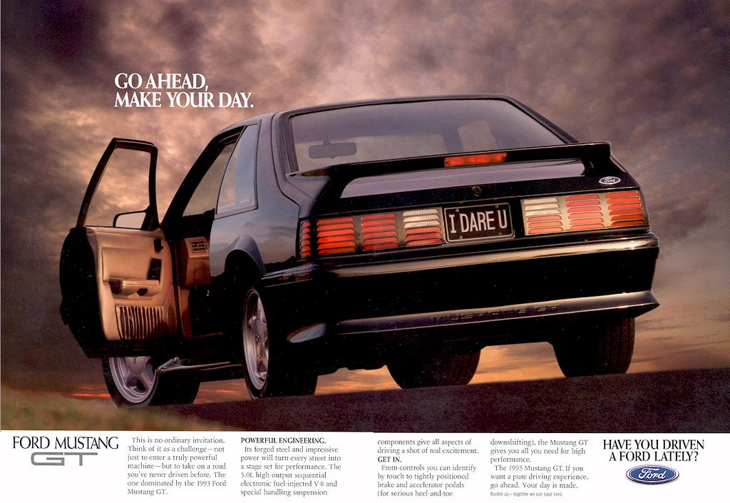 Ford Mustang Gt Ad Usa