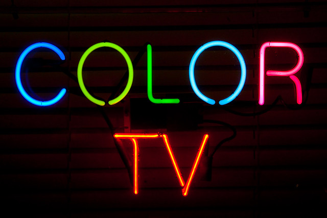 Color TV, Plate 3