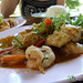 Shrimp and Fish Penang Curry - Haad Yao, Thailand