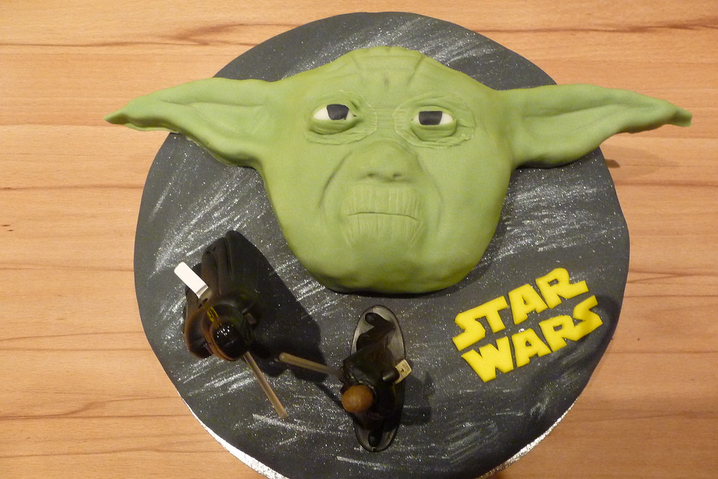 Yoda Torte A Photo On Flickriver