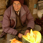 Pumpkin Vendor in Darjeeling, India