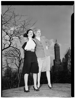 [Portrait of Doris Day and Kitty Kallen, Central Park, New York, N.Y., ca. Apr. 1947] (LOC)