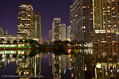 Miami River & Brickell Skyline