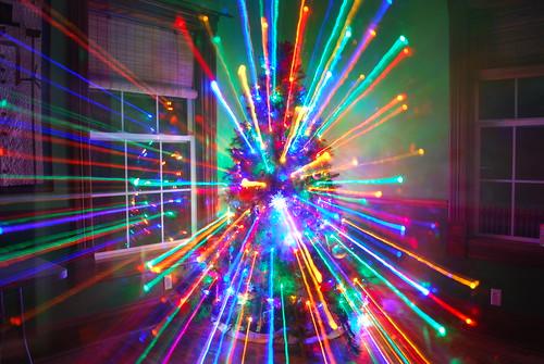 Laser Christmas Tree!