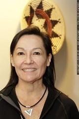 grandma neeta models a new piece of navajo jewelry