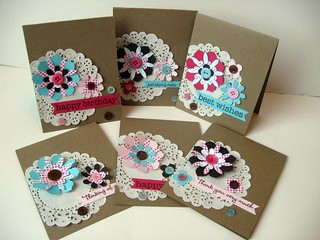 Doily Card Set