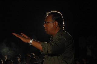 Shykh Seraj during a public interactaion