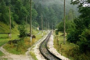 Sveto Petka - 760mm Bulgarian narrow gauge railway, Bansko - Septemvri  1996