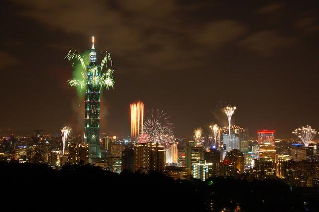 2011.01.01 Taipei 101 跨年 & 建國百年煙火 (PS)