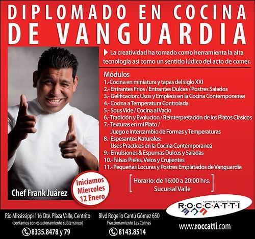 Diplomado en cocina de vanguardia curiosidades gastron micas for Cocina de vanguardia wikipedia
