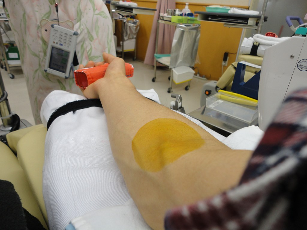 献血 in 大須万松寺 献血ルーム