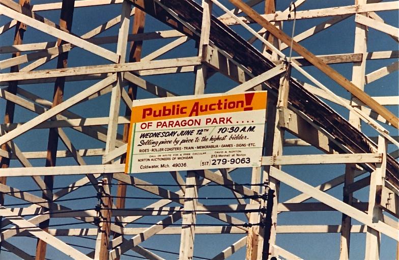 Paragon Park 1985 Public Auction