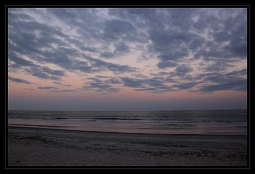 ocean travel sunset vacation sky reflection beach clouds coast twilight sand florida dusk 365 fernandinabeach beltofvenus ameliaisland