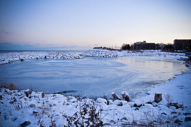 Lake Ontario, from Mimico (Toronto)