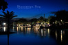 nice dusk blue sky at plantation bay mactan
