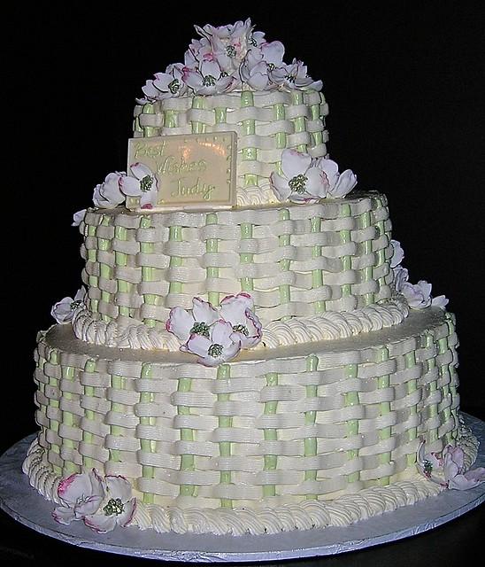 Basket Weaving A Cake : Basket weave cake flickr photo sharing