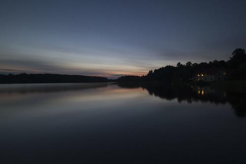 longexposure sunset lake evening sweden sverige östergötland sigma1020mmf456exdchsm bjärkasäby rängen canoneos7d