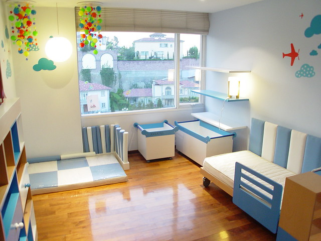 Habitacion infantil dise o y decoracion de cuartos - Habitaciones decoradas para ninos ...