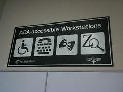 Fort Worth Public Library -Central- ADA accomodations (3)