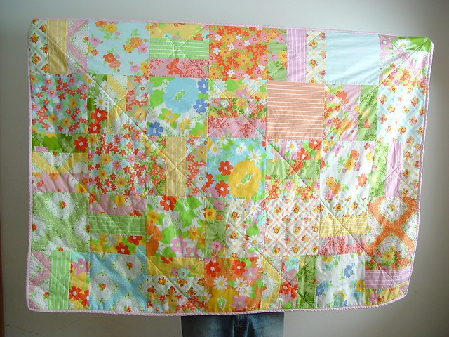 snuggly quilt, view 1
