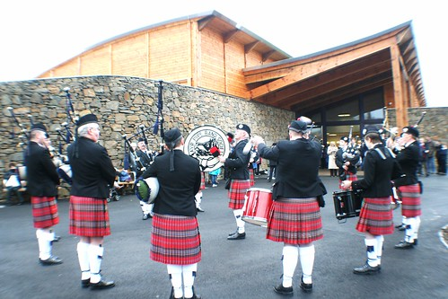 Ayr Pipe Band at Robert Burns Birthplace Museum