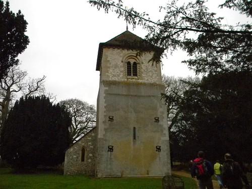St Mary's Church. Winchfield