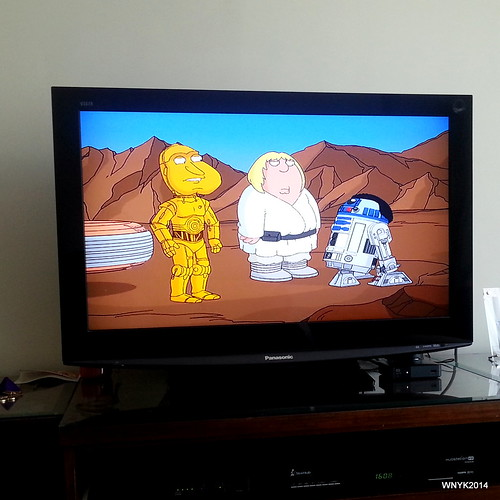 Start Wars ala Family Guy