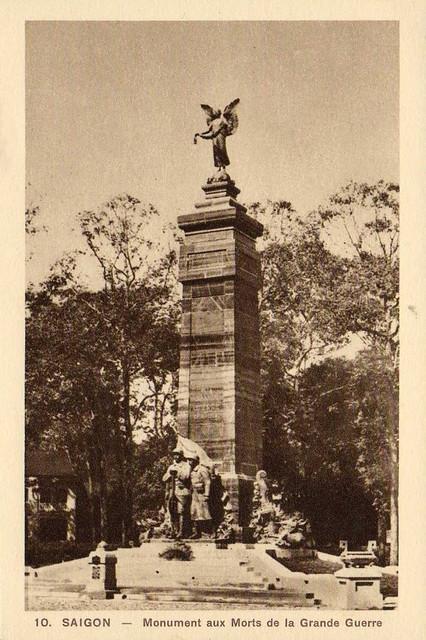 Saigon - le monument aux morts