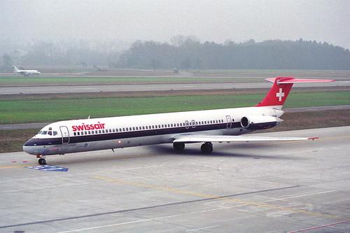 Swissair MD-81; HB-INA@ZRH;26.01.1996